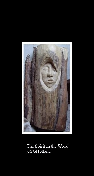 The Spirit in the Wood mounted for AGC comment
